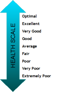 Health scale